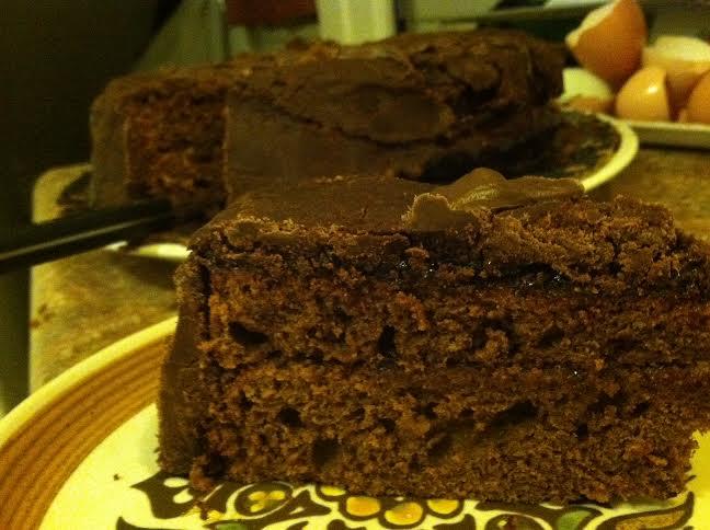 Постный торт с какао фоторецепт