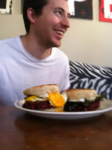 beet mcmuff with dubba