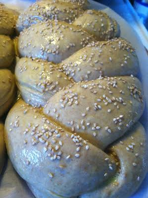 whole wheat challah glaze
