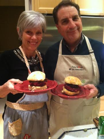beet burger parents