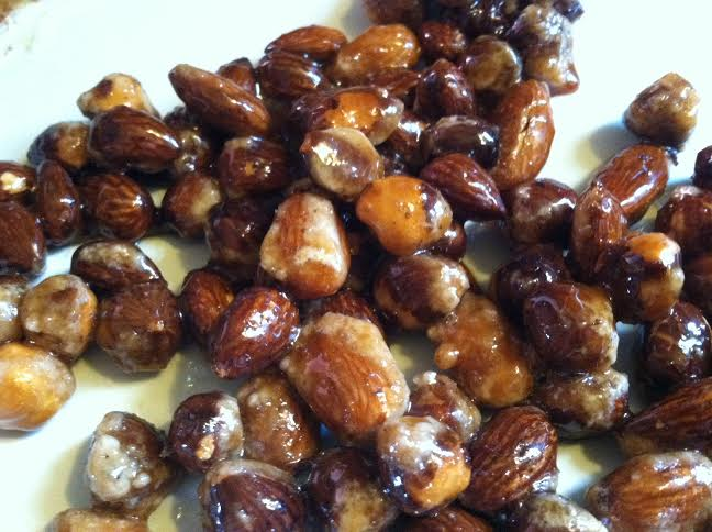 pb nuts caramelized