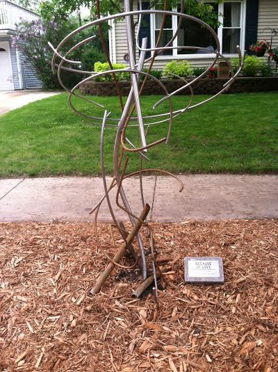 art on the ave sculpture 2015