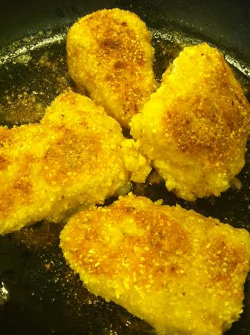 corn crusted fish