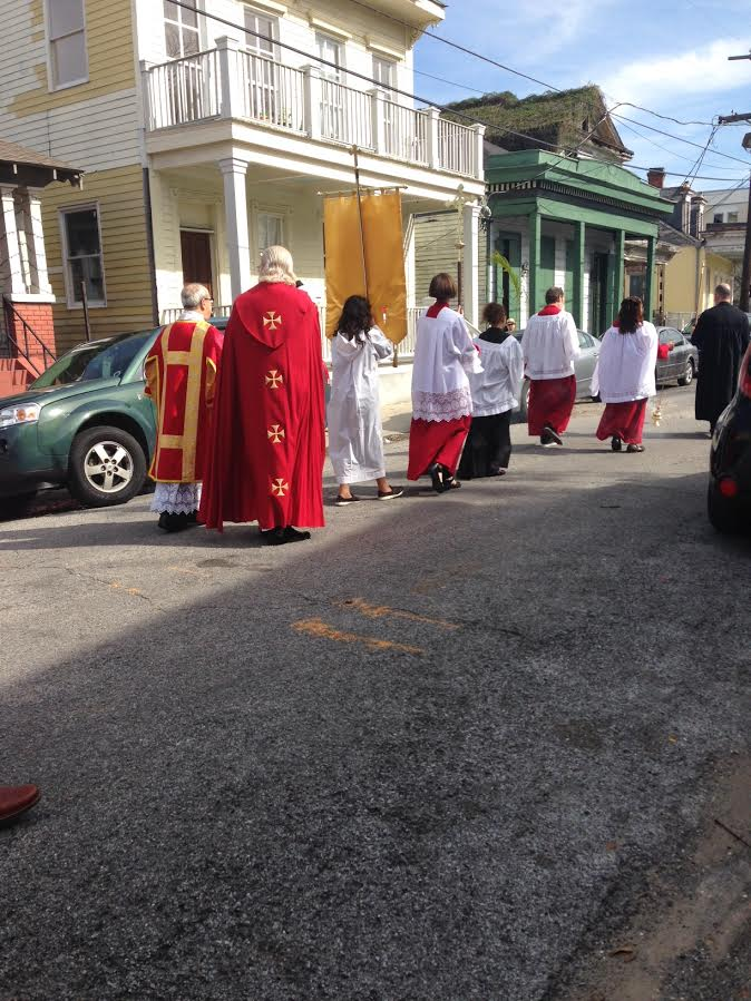 easter second line st annas